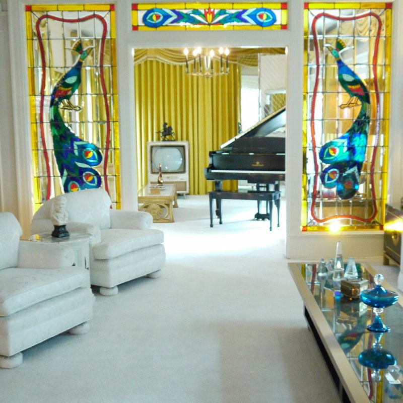 Piano Room in Graceland