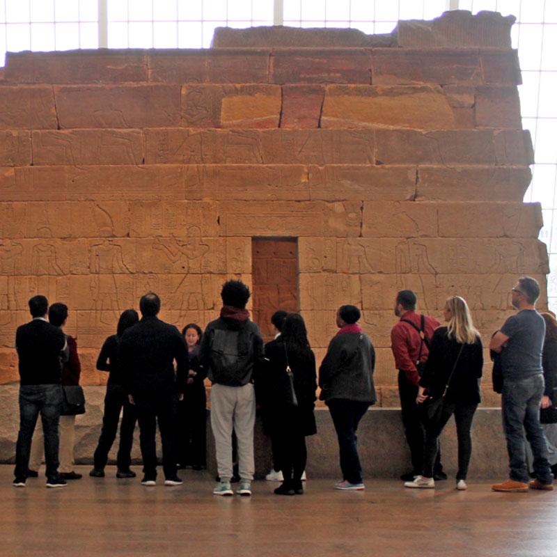 Temple of Dendur Exhibit