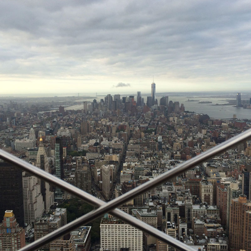 City View from Empire State Building