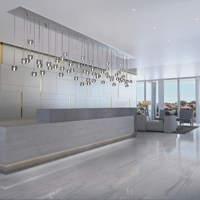 Lobby at TRYP by Wyndham Miami Bay Harbor