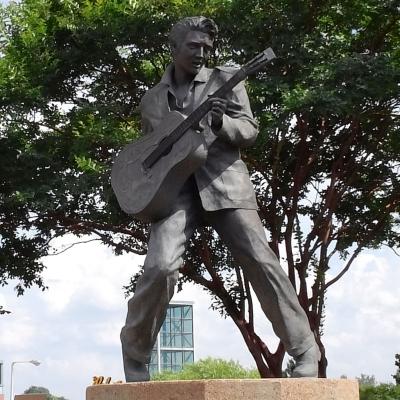 Statue of Elvis